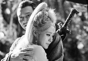 张智霖与阿娇在《白狐》中有亲密戏。
