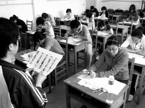 比高考还难的考试 (资料图片)   摄影记者 孙海