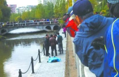 昨日一早,沈阳市滨河路附近的运河里,发现一具女性尸体。