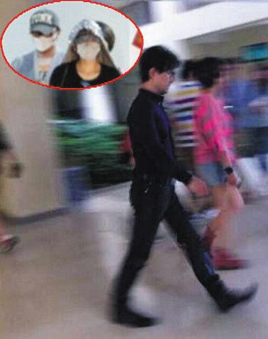 有媒体拍到章子怡和汪峰同游三亚。