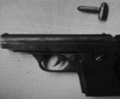 涉案的枪支。 本组图片由警方供图