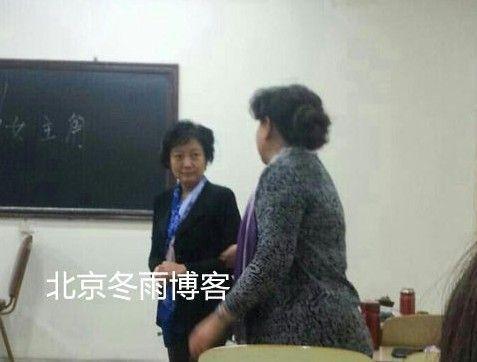 陈道明夫人近照