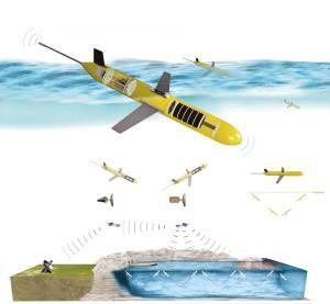 最大下潜深度接近1000米 可连续工作2个月 由卫星控制工作