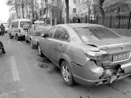 受损车情况图