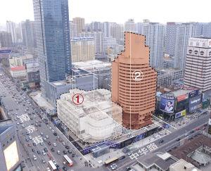 新世界酒店大楼即将爆破拆除,目前处于爆破准备阶段