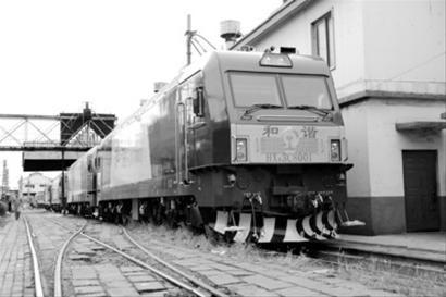 大连机车交付首批和谐3c型货运电力机车