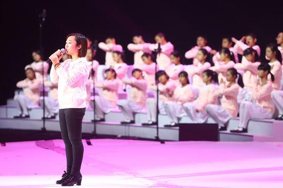 BMW悦助未来助学计划受助人陈玲演唱《蜗牛》