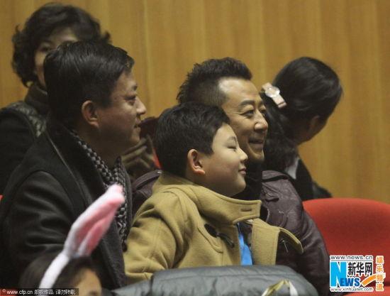 朱军郭涛等明星到场。