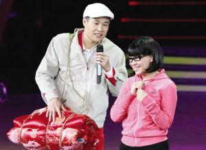 小沈阳夫妇的节目是北京春晚一大亮点