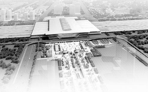 2015年5月,东北最大的火车站——沈阳新南站将投入使用