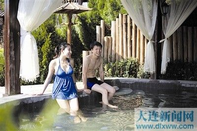 """温泉大项目""""烘热""""大连冬季旅游"""