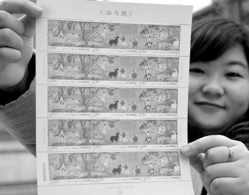 市场重炒名画邮票 业内人士不建议炒新