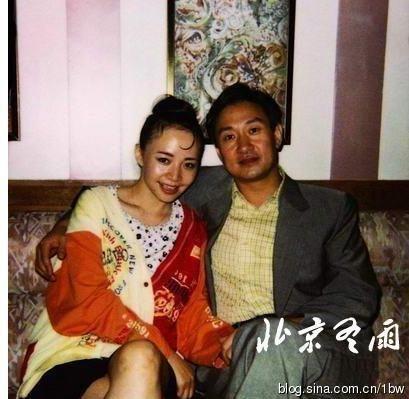 宋丹丹和老公赵玉吉合影