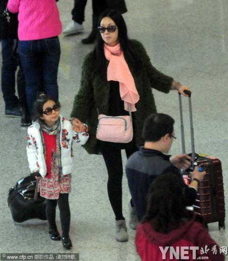 陶虹及女儿
