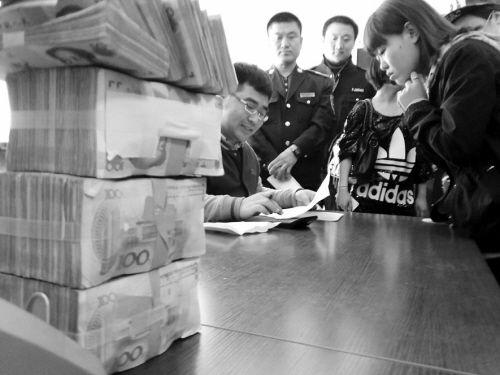 沈阳市公安局和平分局中华派出所解决一起欠薪案。