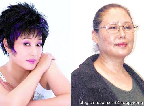 刘晓庆和斯琴高娃