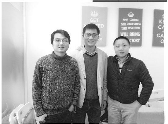 Keen团队主攻手陈良(左一)是个85后。