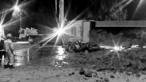 事发20日深夜,苏家屯区银杏路与南京南街交会处,出租车司机和女乘客不幸身亡