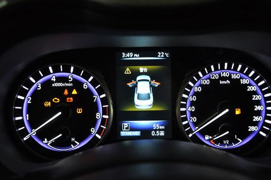 汽车仪表系统电路图