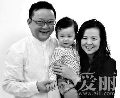 王刚与妻子