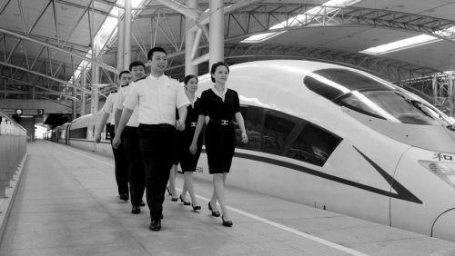 沈铁沈阳客运段正在为沈阳至武汉高铁的开通做准备工作