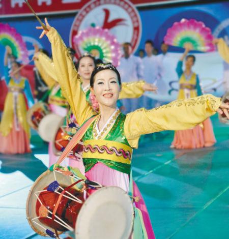 沈阳市第七届少数民族传统体育运动会开幕