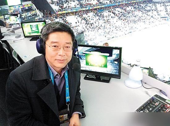 央视名嘴刘建宏 (资料图片)
