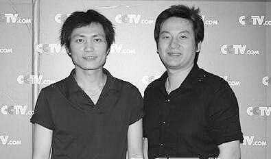 央视导演吕逸涛(右)和汤浩