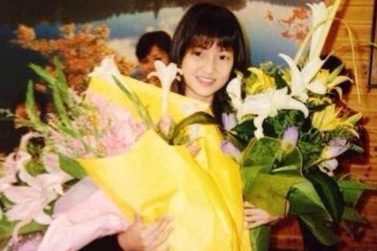 郭美美14岁生日时所拍照片