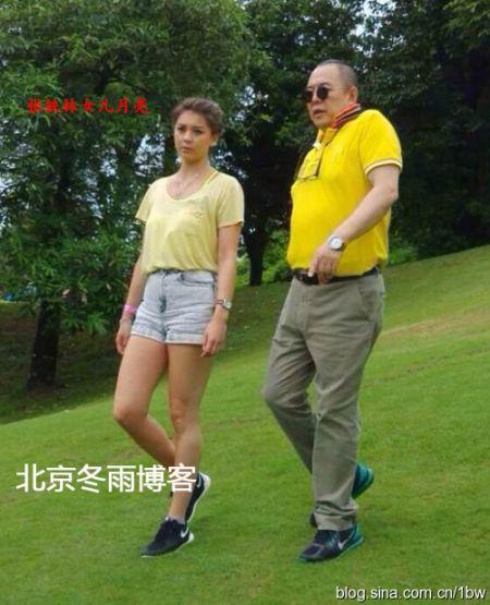 张铁林与女儿