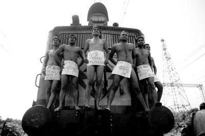 学生裸体抗议