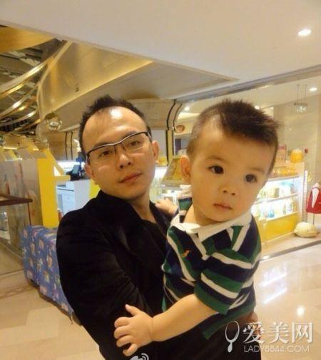 刘涛老公王珂和儿子
