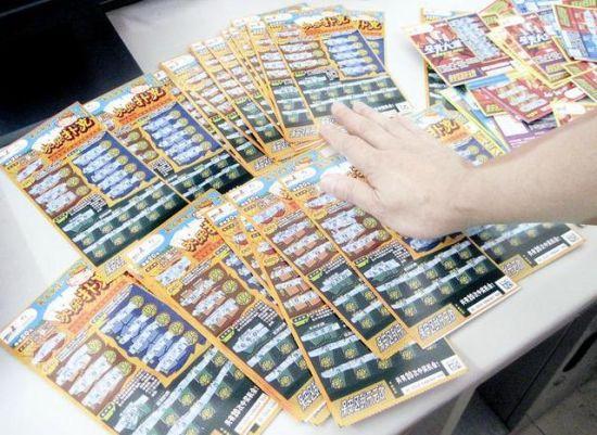 男子偷走5000张彩票中奖2700元