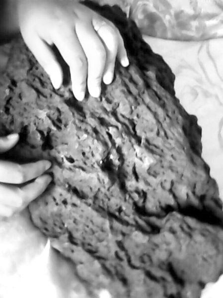 陨石的大小跟一颗白菜差不多