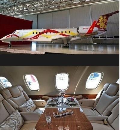 成龙私人飞机