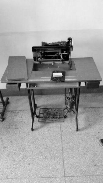 100元买来的二手缝纫机