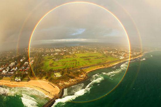 全圆形彩虹
