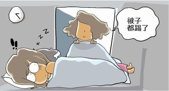@豆精灵:一夜入秋,睡不着的是我婆婆啊,一晚上进来给她儿子、孙子盖N次被子,我好抓狂。