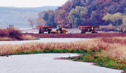 还将打造6大景观,明年6月竣工。