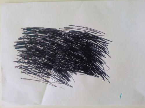 5名同事靠涂鸦画治疗心理创伤。