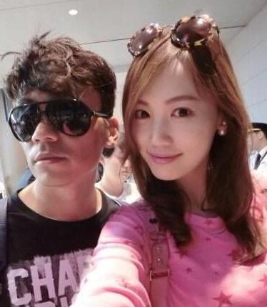 王宝强与妻子马蓉。