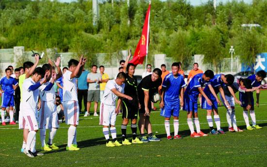 虽然沈阳社会足球联赛面临种种问题,但它依然如小草般顽强地生存着。