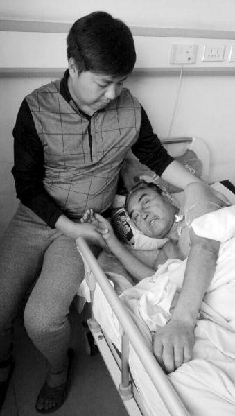 包俊峰与重病父亲