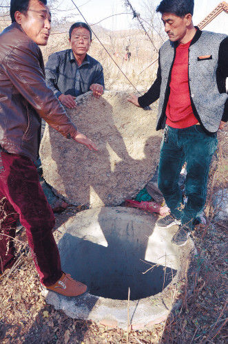 法库村民投诉滥建沼气池 500元买个坑(图)