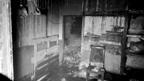 老式平房两天两起火灾 时间相同地点一墙之隔