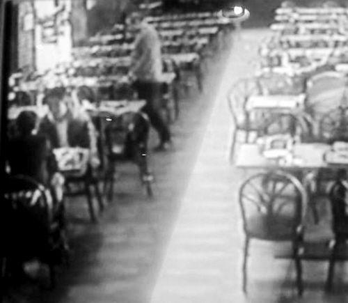 男子就餐后发现手机不见了。