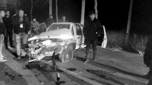 """学员练""""600公里""""遭连撞。"""