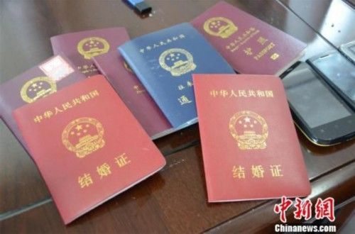 余某偷来的结婚证、护照等物品