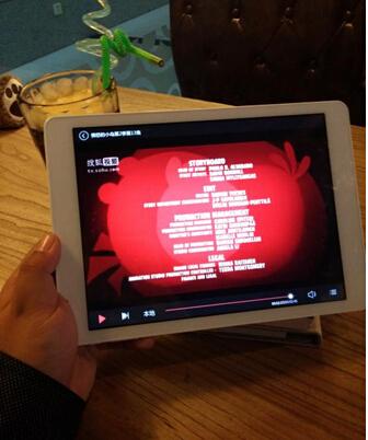 ...台电x98 air 3g双系统平板的windows系统播放ppt并通过这款...