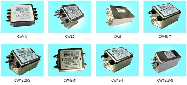 第五,电源滤波器允许通过应与电路中连续运行的额定电流一致.